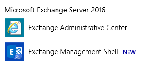 Exchange 2016 Change SMTP Port - Step 1 - Open EMS